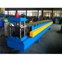 China Large 7.5KW Decoiler Door Frame Forming Machine 1.2mm Thickness wholesale