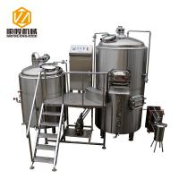 China 5HL Beer Production Equipment Large SS / Copper German Style For IPA wholesale