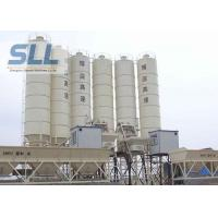 Large Capacity Ready Mix Concrete Batching Plant / Twin Shaft Mixer Batching Plant