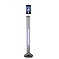 China 8 Inch AI Face Recognition Body Floor Standing Temperature Scanner wholesale