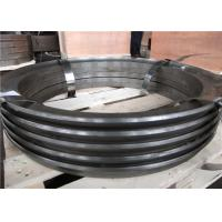 Quality ASTM A29 1045 Forged steel rings Normalizing  Quenching and Tempering Heat Treatment Hardness Reprot  UT test for sale