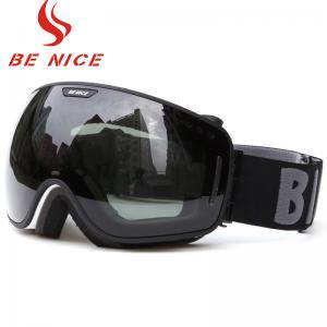 Quality Anti Fog Scratch Mirrored Ski Goggles TPU Frame With CE , FDA Certificate for sale