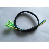 China Custom Wire Harness Fireproof UL1332 16 AWG Teflon Wire With PVC Tube Crimped Bullet Terminal To Open wholesale