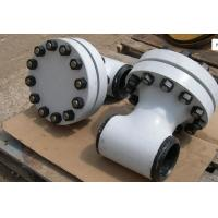 China TEE TYPE ASME Strainer ASME B16.10 TP304 Body Screen 316L 300LB , Compact Design wholesale