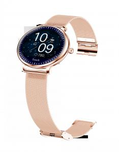 """China Ladies Round Screen 1.08"""" Blood Pressure Heart Rate Smart Watch wholesale"""