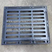 China Standard Custom Designs Hardware Tools Gray cast iron trench grating / solid covers and frames wholesale