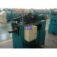 China Blue Hydraulic Cutting Gutter Roll Forming Machine 6-8 M / Min Forming Speed on sale