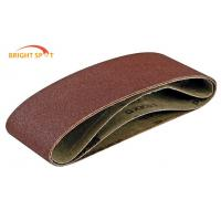 China Wide Belt Sander Metal Sanding Belts  6 X 48 Inch For Furniture Industry wholesale