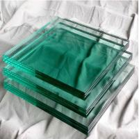 China Outdoor Glass Building Material Solid 8mm Toughened Glass For Doors wholesale