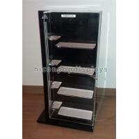 China Retail Shop Clothing Store Fixtures Brand Name Shoes Display Cabinet With 4 Shelves wholesale