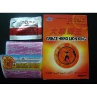 China Safety Herbal Male Enhancement , Great Lion King Sexual Enhancement Pills wholesale