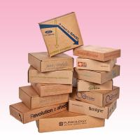 Wholesale custom kraft paper corrugated mailer manufacturer with design printing from china suppliers