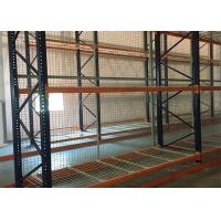 China Adjustable Pallet Racking System , Robot Welding Wire Mesh Decking For Warehouse wholesale