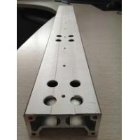 China Aluminium Extrusion Custom Machined Parts With Drilling And Tapping wholesale