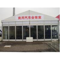 China Easy Install Classic Size Temporary Tent Building With Glass Wall wholesale