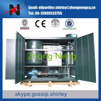 Turbine Oil Purifier Oil Recycling Plant Series TY for waste dirty tubine oil