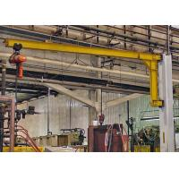 China 2T Wall Mounted Jib Crane , Small Jib Arm Crane With Electric Wire Rope Hoist wholesale