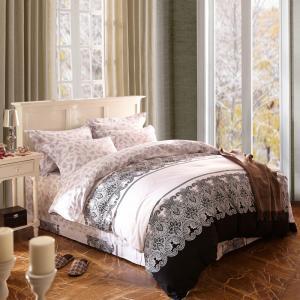 China Home Textile King Size Cotton Bedding Sets Beautiful Design Washable wholesale