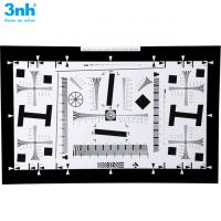 Quality ISO 12233 Camera Test Chart Resolution Test Chart 2000 lines 1X (20x35.6 cm)NQ for sale
