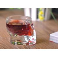 China Stemless Lead Free Cut Glass Shot Glasses 65ml Glassware For Bar Party wholesale