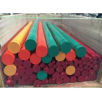 China low friction coeffcient engineering uhmwpe hdpe plastic rod 1000mm length on sale