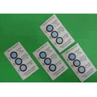Buy cheap Reversible 3 Dots Humidity Indicating Cards Blotting Paper Ingredient For Bulk from wholesalers