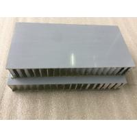 China White PVDF / FEVE Paint Aluminium Honeycomb Composite Panel Sound Insulation  wholesale