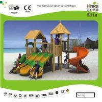 China Wooden Playground (KQ10152A) wholesale