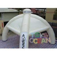 China Spider Advertising Project Inflatable Dome Tent With Interchangeable Velcro Banner wholesale