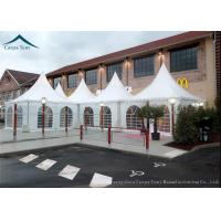China Water Resistant Pagoda Tents Western Style With Clear Windows wholesale