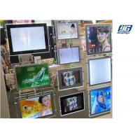 China Ceiling Hanging Magnetic Light Box Slim Clear Frame Double Sided Indoor Advertising wholesale