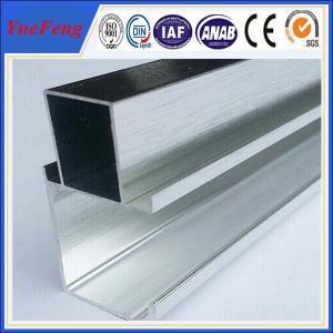 China factory supply polishing of 6061 aluminum alloy aluminum t shape extrusion frame on sale