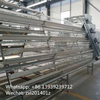 China Galvanized 4Tiers A type Battery Cages For Layers For Farms In Ghana Farming wholesale