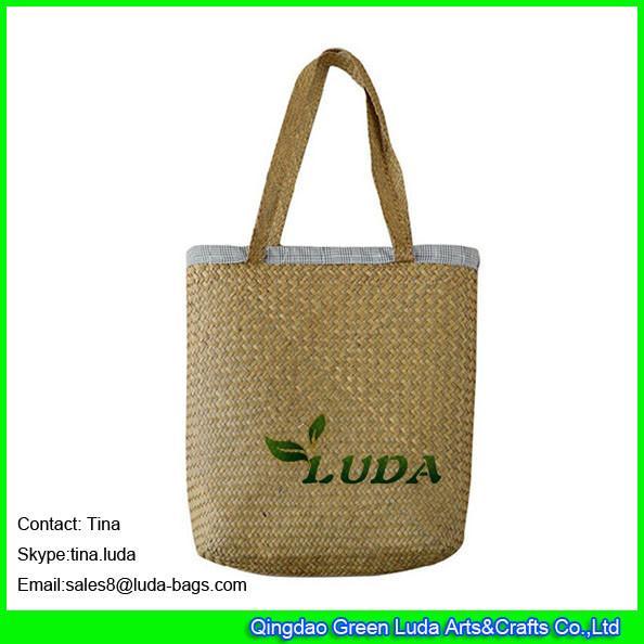 Luda Wholesale Cheap Handbags Fashion Seagrass Straw Beach