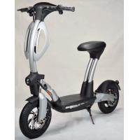 Buy cheap Electric Two Wheel Self Balancing Scooter With Seat , Durable 2 Wheel Scooter from wholesalers