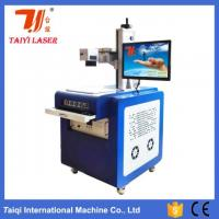 China 10W Electric Wire And Cable UV Laser Marking Machine , Laser Engraving Equipment wholesale