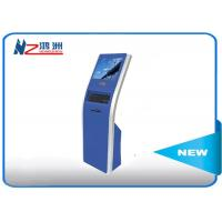Buy cheap 17 inch automatic free standing kiosk touch queuing Customized Color from wholesalers