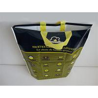 Garment Packaging Plastic Patch Handle Bags Big With Bottom Gusset