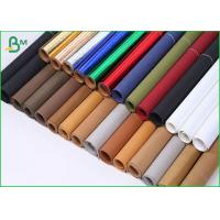 China Tearproof Colored Washable Paper Roll , Washable Kraft Paper Fabric For Bag DIY Fine Arts and Crafts on sale