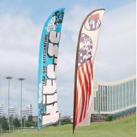 Quality Feather Flag Banners , feather flag , teardrop wind flag 1.2m - 5.6m for sale