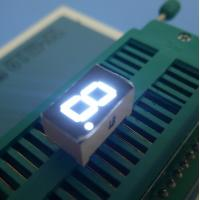 China Ultra White 3 Inch 1 Digit 7 Segment Display High Performance wholesale