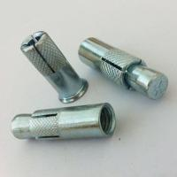 China Grade 4.8 Standard Concrete Anchor Bolts , Heavy Duty Galvanized Anchor Bolts wholesale