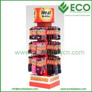 China POS Carton display for socks, socks display stands, socks display rack wholesale