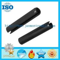 Buy cheap Black Slotted Spring Pin,Black roll pin,Black spirol pin,Black grooved pin,spring steel coiled pin,spring pin tooth type from wholesalers
