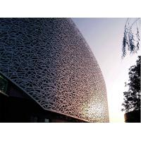China Perforated Aluminium Panels 4mm Prefabricated Facade Ceiling Wall Cladding wholesale