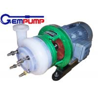 China Fluorine Chemical Centrifugal Pump for pesticides / Dye industry pumps wholesale