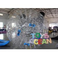 Quality Bubble 1.00mm PVC Inflatable Colorful Grass Zorb Ball For Inflatable Sport Game for sale