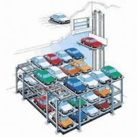 China Lift-sliding Car Parking System, Effectively Uses the Space, Flexible Structure wholesale