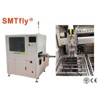 China Automatic PCB Router Machine , In - Line Laser PCB Depaneling Machine Under Vacuum on sale