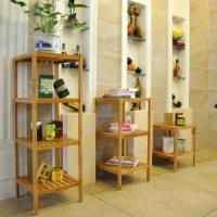 China China Bamboo Storage Rack Shelf for Living Room, Dining, Bedding, Kitchen, Hotel wholesale